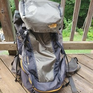 The North Face Terra 65L hiking backpack